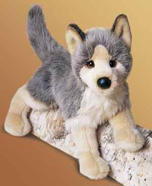 Realistic Fake Furry Stuffed Animals Toys