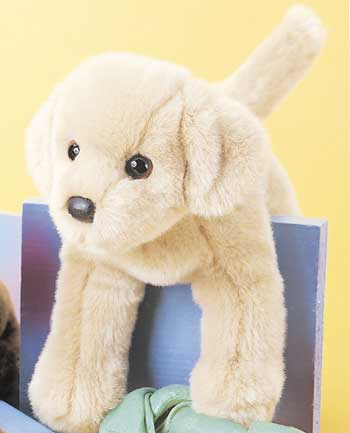 Fake Fur Stuffed Plush Toy Dogs That Are Very Life Like