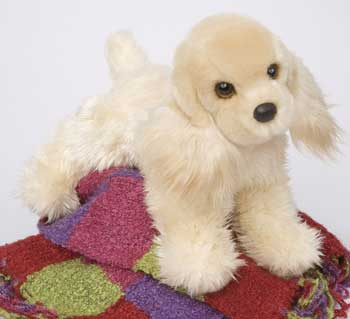 Synthetic Fur Toy Dogs By Douglas Cuddle Toys