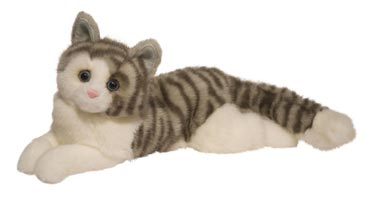 Life Like Realistic Plush Toy Cats Made With Synthetic Fake Fur