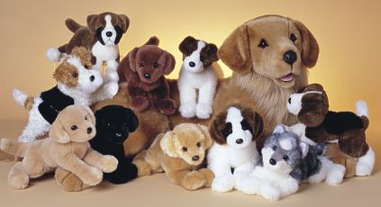 Click here to see more Plush Dog Toys!